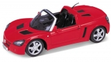 Opel Speedster 2001 červená 1/24 Welly