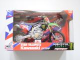 Kawasaki KX250F 2008 Monster Energy Ryan Villopoto 1/12 NewRay