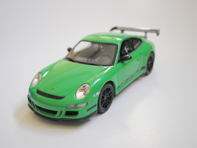 Porsche 911 GT3 RS zelená 1/24 Welly